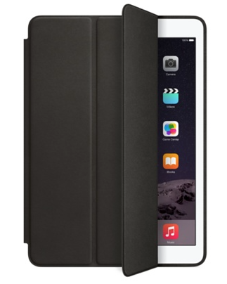 Apple Apple iPad Air 2 Leather Smart Case- Black