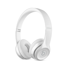 Beats Beats Solo3 Wireless On-Ear Headphones - Gloss White