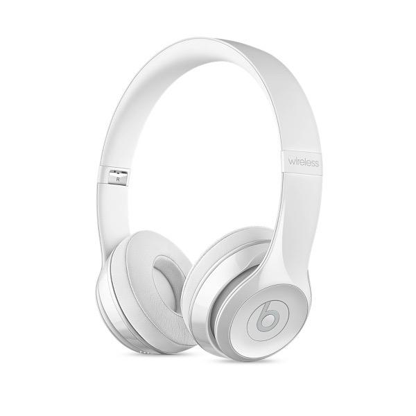 Beats Beats Solo3 Wireless On-Ear Headphones - Gloss White