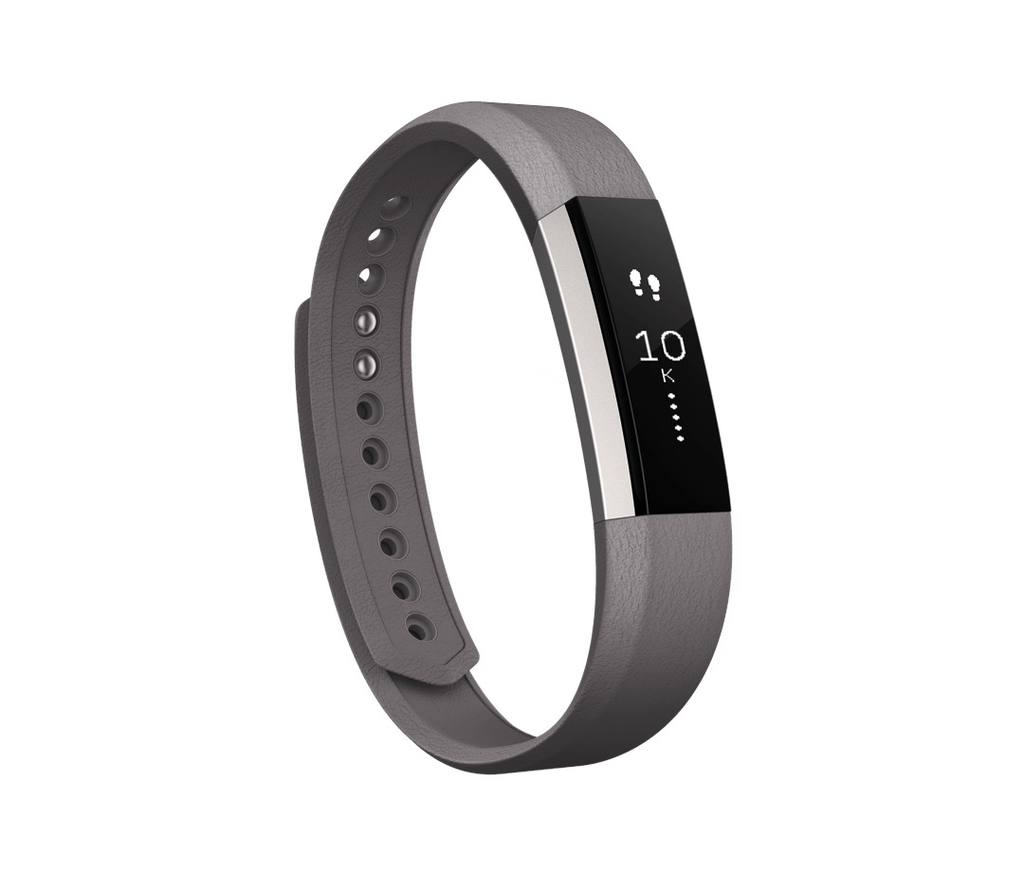 FitBit Alta Leather Band - Large Graphite