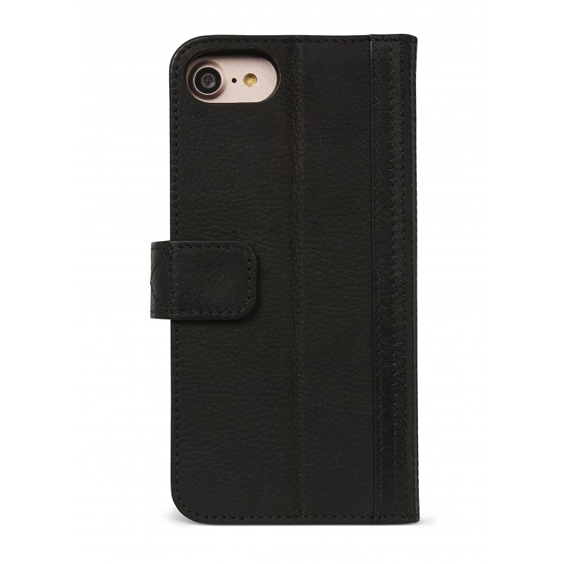 Decoded 2-in-1 Wallet Case for iPhone 8/7/6 - Black