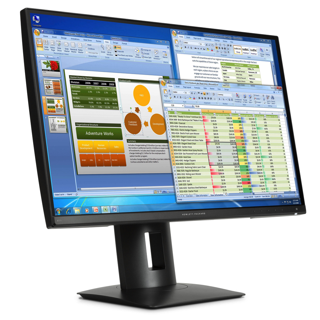 HP Z27n 27-inch Narrow Bezel IPS Displays