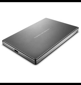 Lacie LaCie 1TB Porsche Mobile USB-C / USB 3.0 - Silver