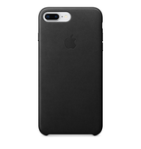 Apple Apple iPhone 8/7 Plus Leather Case - Black