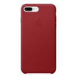 Apple Apple iPhone 8/7 Plus Leather Case - (PRODUCT)RED