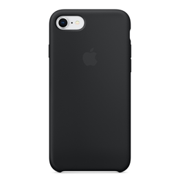 Apple Apple iPhone 8/7 Silicone Case - Black