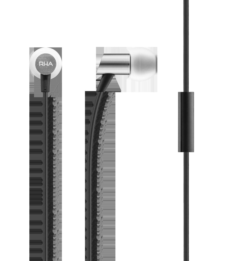 RHA RHA S500u In-Ear Headphones with Universal Remote