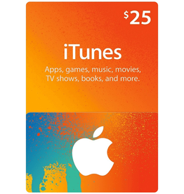 Apple iTunes Gift Card $ 25.00