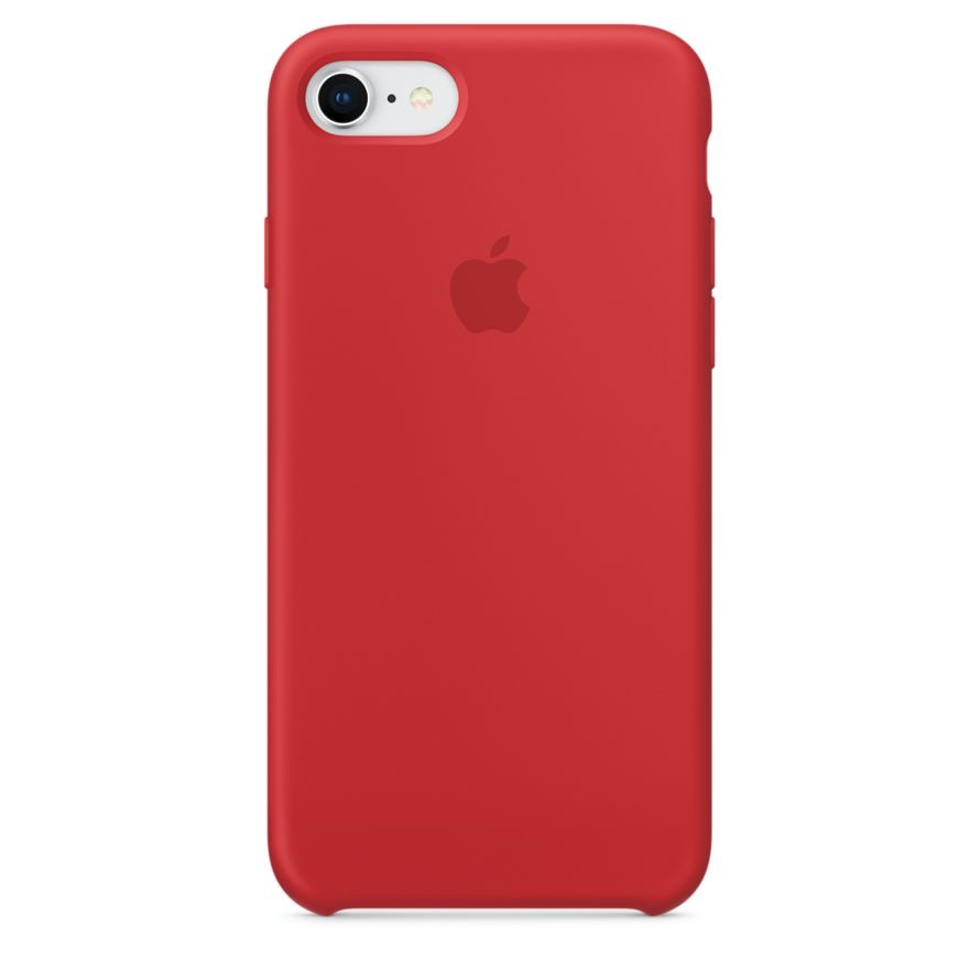 Apple Apple iPhone 8/7 Silicone Case - (PRODUCT)RED