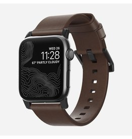Nomad Nomad 44mm/42mm Modern Strap for Apple Watch - Brown / Black