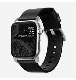 Nomad Nomad 44mm/42mm Modern Strap for Apple Watch - Black / Silver