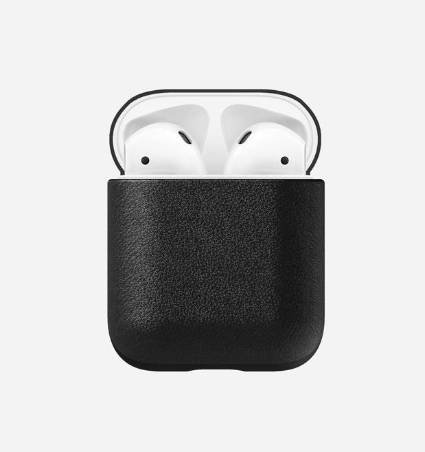 Nomad Nomad Rugged Leather Case for AirPods - Black