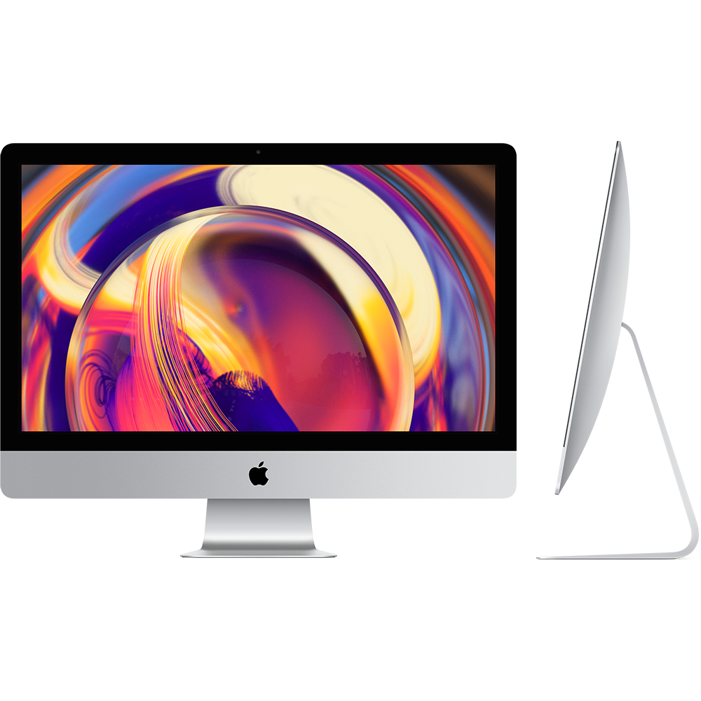 Apple Apple 27-inch iMac with Retina 5K display: 3.1GHz 6-core 8th-generation Intel Core i5 processor, 8GB, 1TB, Radeon Pro 575X with 4GB of GDDR5 memory