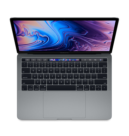 Apple Apple 13-inch MacBook Pro: 2.7 GHz Quad-core 8th generation i7 Touch Bar and Touch ID, 8GB, 512GB, Intel Iris Plus Graphics 655 - Space Gray (Open Box)