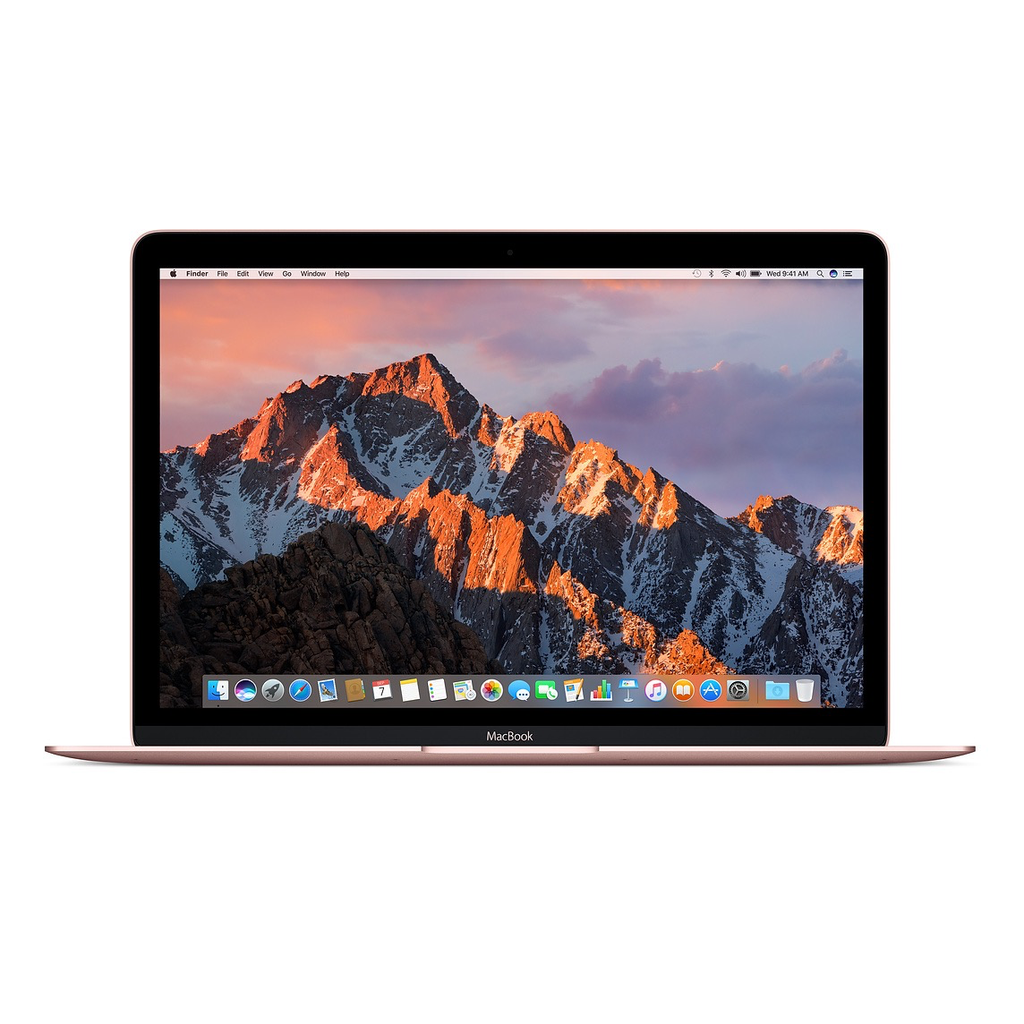 Apple Apple 12-inch Macbook: 1.2GHz dual-core Intel Core m3, 8GB, 256GB, Intel HD Graphics 615 - Rose Gold (Open Box)