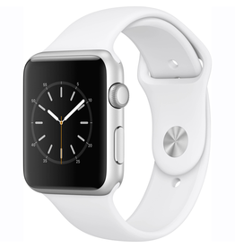 Apple Apple Watch Series 1 42mm Silver Aluminum Case with White Sport Band (Open Box)