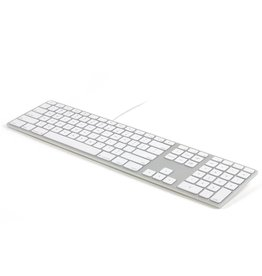 Matias Matias USB Wired Aluminum Keyboard for Mac - Silver