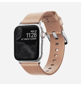 Nomad Nomad 40mm/38mm Modern Strap for Apple Watch - Nude / Silver