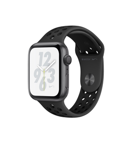 Apple AppleWatch Nike+ Series4 GPS, 44mm Space Grey Aluminium Case with Anthracite/Black Nike Sport Band (Open Box)