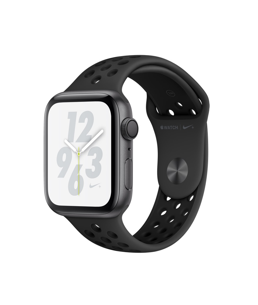 Apple Apple Watch Nike+ Series 4 GPS, 44mm Space Grey Aluminium Case with Anthracite/Black Nike Sport Band (Open Box)