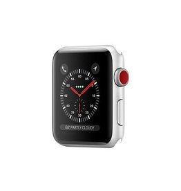 Apple Apple Watch Series 3 GPS + Cellular 42mm Silver Aluminium Case Only