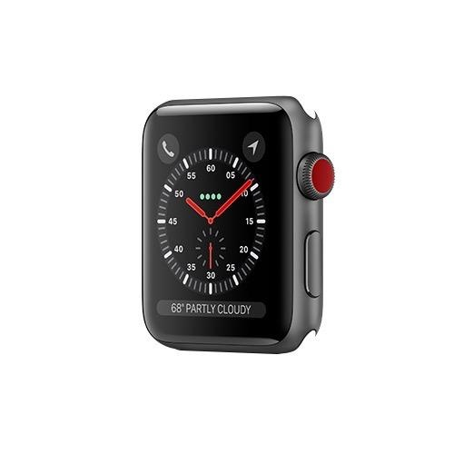 timeless design 6a2c8 e3545 Apple Watch Series 3 GPS + Cellular 42mm Space Grey Aluminium Case Only