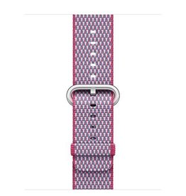 Apple Apple Watch 42mm Berry Check Woven Nylon