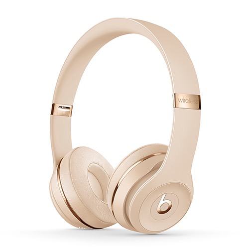 Beats Beats Solo3 Wireless On-Ear Headphones - Satin Gold
