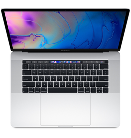 Apple 15-inch MacBook Pro with Touch Bar: 2.6GHz 6-core 9th-generation Intel Core i7 , 16GB, Radeon Pro 555X with 4GB of GDDR5 memory, 256GB SSD - Silver