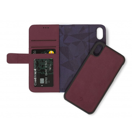 Decoded 2-in-1 Wallet Case for iPhone XR - Purple