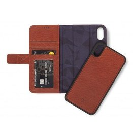 Decoded 2-in-1 Wallet Case for iPhone XR -  Cinnamon Brown