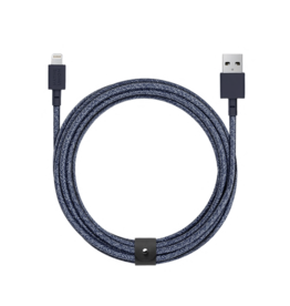 Native Union Native Union 3M Belt Lightning Cable - Indigo