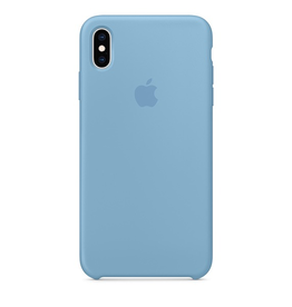 Apple Apple iPhone XS Max Silicone Case - Cornflower