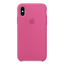 Apple Apple iPhone XS Silicone Case - Dragon Fruit