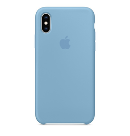 Apple Apple iPhone XS Silicone Case - Cornflower