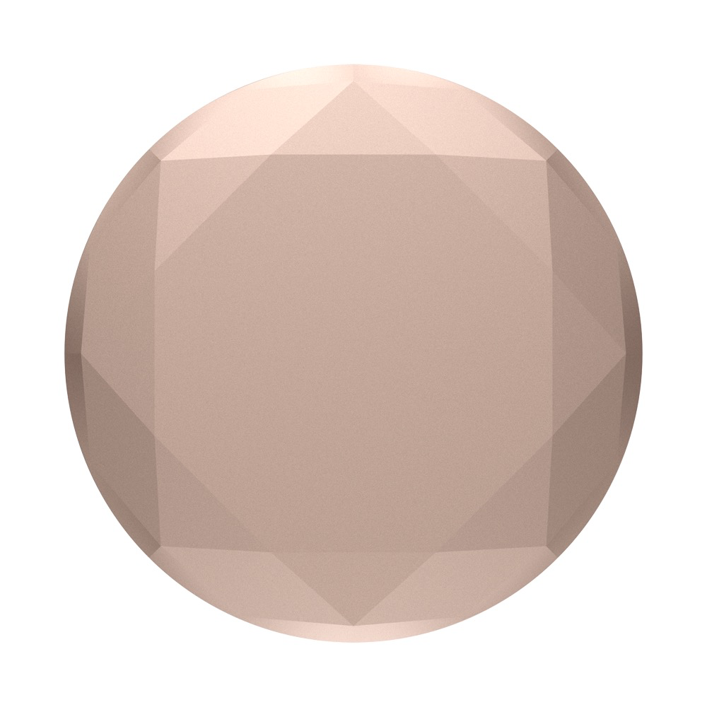 PopSockets PopSockets PopGrip Metallic Diamond - Rose Gold