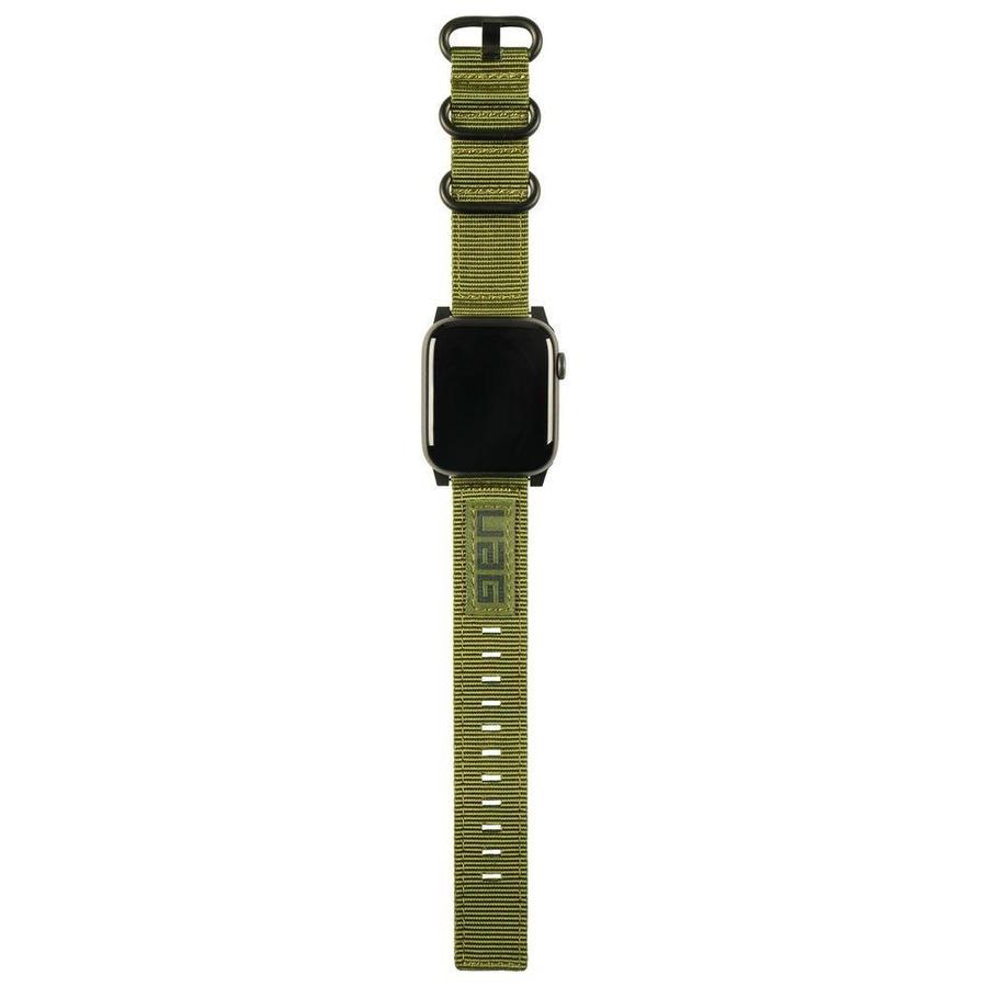 UAG UAG 44mm/42mm Nato Strap for Apple Watch - Olive Green