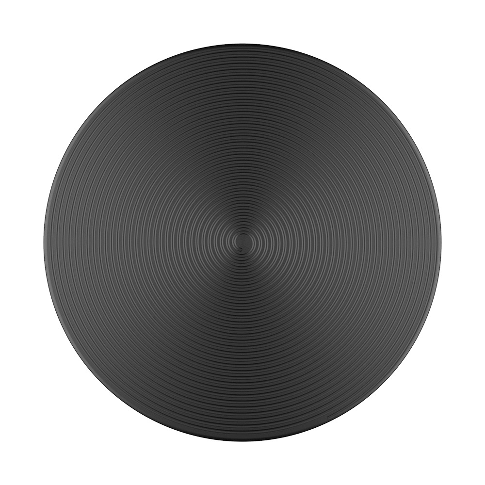 PopSockets PopSockets PopGrip - Twist Black Aluminum