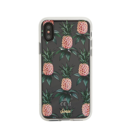 Sonix Sonix  Clear Coat Case for iPhone XS/X - Pink Pineapple