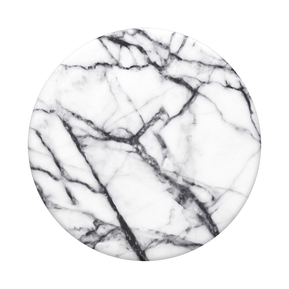 Popsockets Popsockets Popgrip White Marble Jump Plus