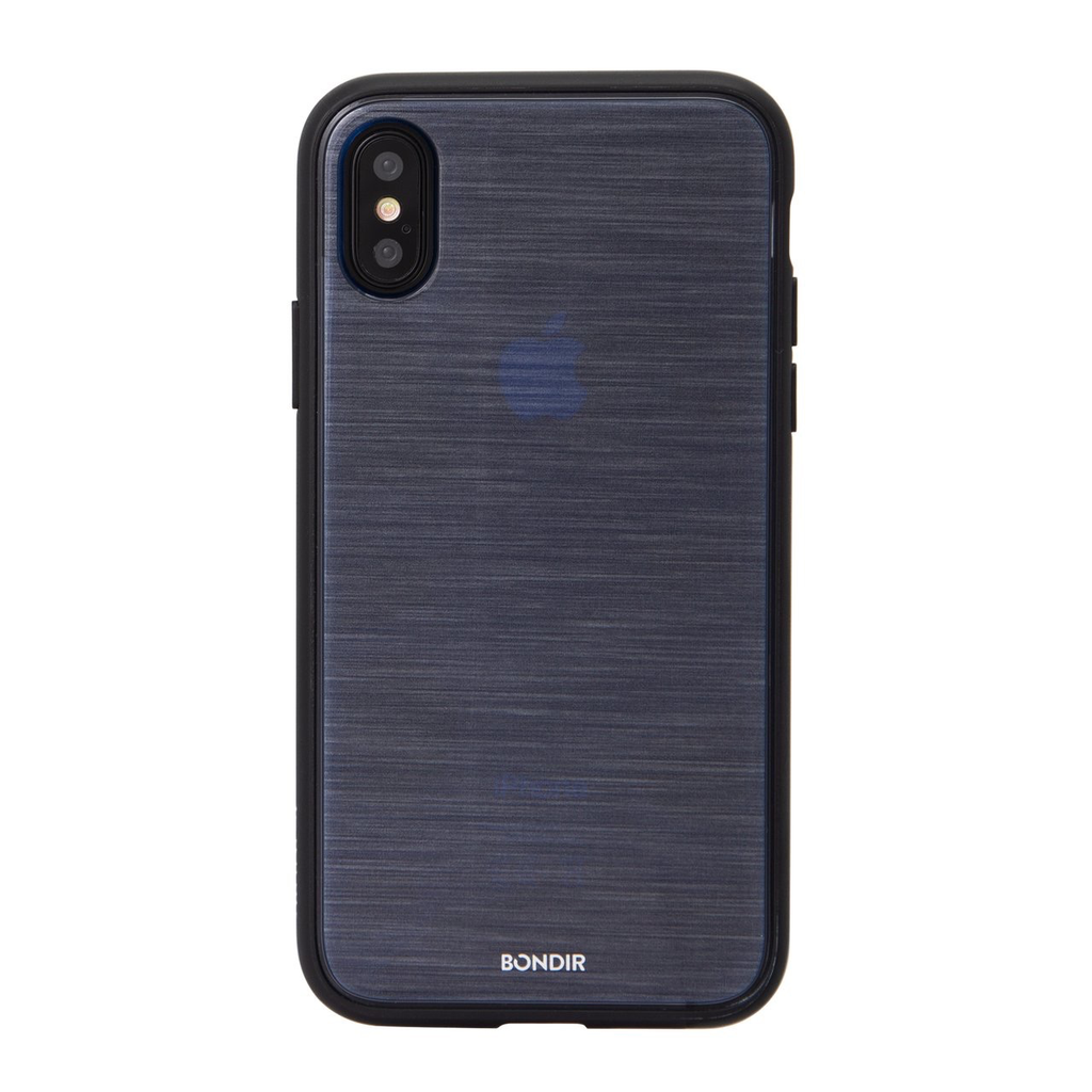 Bondir Clear Coat Case for XS Max - Mist Navy