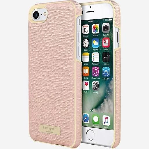 kate spade new york kate spade Wrap Case for iPhone 8/7/6 - Saffiano Rose Gold