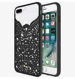 kate spade new york kate spade Hardshell Case for iPhone 8/7/6 Plus - Lace Hummingbird Black