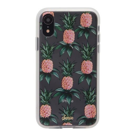 Sonix Sonix  Clear Coat Case for iPhone XR - Pink Pineapple