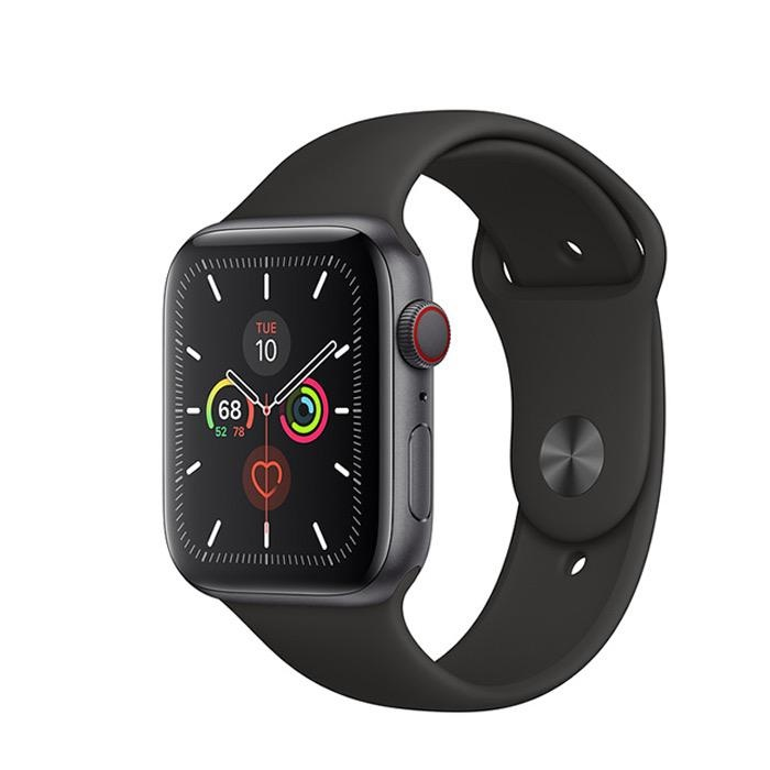 Apple Apple Watch Series 5 GPS + Cellular, 40mm Space Grey Aluminium Case with Black Sport Band