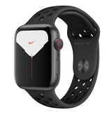 Apple Apple Watch Nike Series 5 GPS + Cellular, 44mm Space Grey Aluminium Case with Anthracite/Black Nike Sport Band