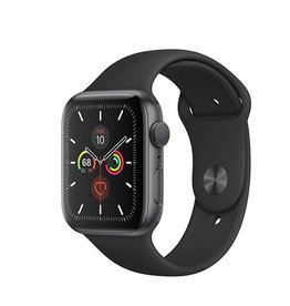 Apple Watch Series 5 GPS, 40mm Space Grey Aluminium Case with Black Sport Band Deposit (Non-refundable)