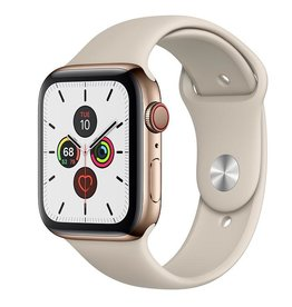 Apple Watch Series 5 GPS + Cellular, 44mm Gold Stainless Steel Case with Stone Sport Band Deposit (Non-refundable)