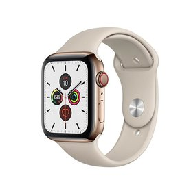 Apple Watch Series 5 GPS + Cellular, 40mm Gold Stainless Steel Case with Stone Sport Band Deposit (Non-refundable)