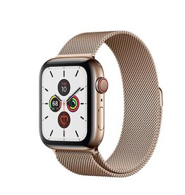 Apple Watch Series 5 GPS + Cellular, 40mm Gold Stainless Steel Case with Gold Milanese Loop Deposit (Non-refundable)